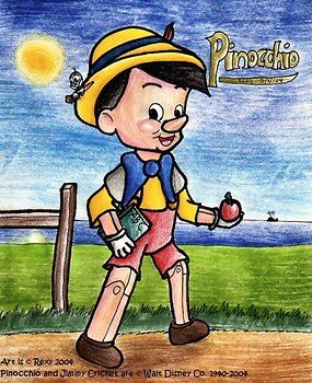 Pinocchio - The Happy Lil Puppet