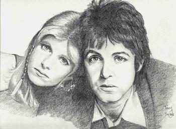 Paul & Linda McCartney