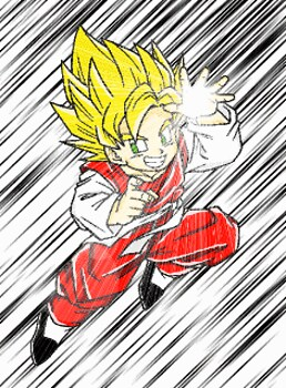 Goten... just like his dad