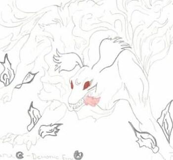 Sesshoumaru Demon Form