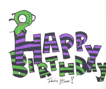 Gir Birthday Card