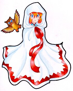 Chibi White Mage