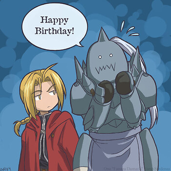 FMA Certified Happy Birthday