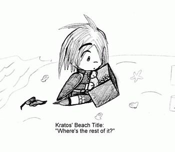 Kratos' Beach Title
