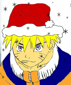 a naruto santa??? (colored)