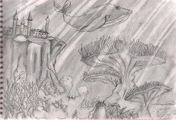 *underwater fantasy scene*