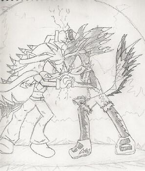 Krackle vs. Bolt (request for Thunderhead)
