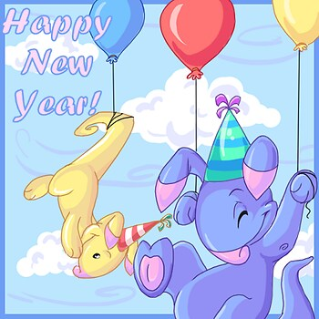 Happy New years - Neopets
