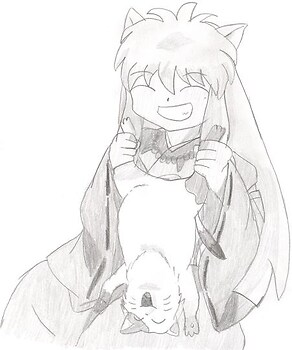 That's not how you treat cats, Inuyasha