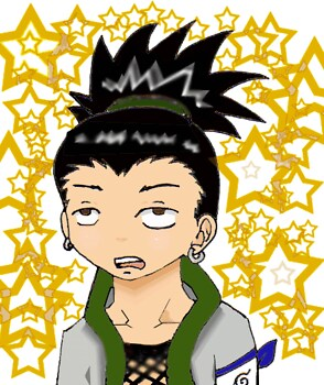 My first drawn Shikamaru