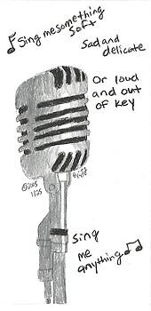 Sing me anything...