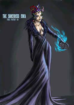 The Sorceress Edea