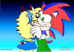 Genesis and Kevin - Request from SonicShadow2