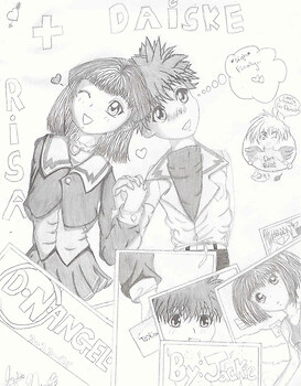 **~Risa and Daisuke~** (ITZ FINALLY FINISHED!!) XD