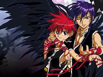 Dark and Daisuke *drools*