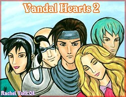 Vandal Hearts 2 Characters (some of them anyway)