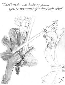 Duel series: Vader vs. Kenobi (round 1)