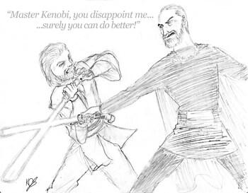 Duel series: Dooku vs. Kenobi (AOTC)