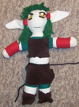 Kisshu Plushie plus a secret you'll wanna check it