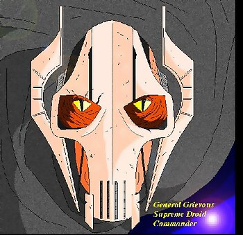 General Grievous: Up close and personal