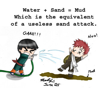 The easiest way to beat Gaara.