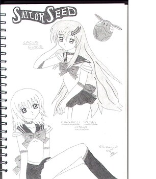 Cagalli&Lacus-Sailor Seed