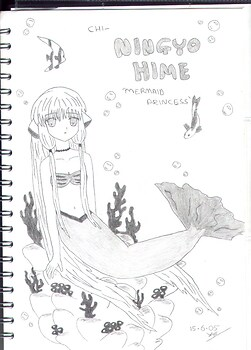 "Chi-""Ningyo Hime"" (Mermaid Princess)"