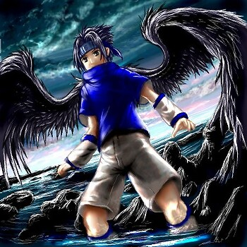 Dark Angel Sasuke