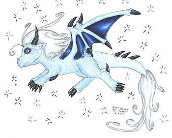 The Dragon of Winter is Chibi
