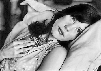 + Liv Tyler -- my best drawing...