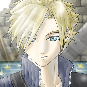 FF7AC: Cloud Smiles Coloured