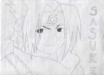 My first Sasuke!