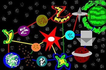 Starfox 64's Lylat System