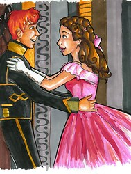 !Ron and Mione at a Masquerade?