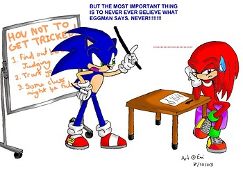 Sonic is fed up
