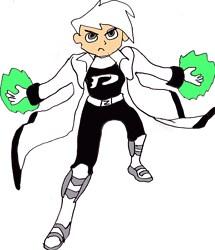 Danny Phantom Alternate Outfit