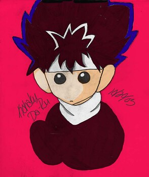 Plushie Hiei Colored