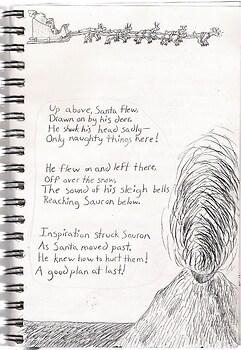 Sauron's Night Before Christmas page 3
