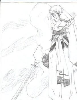 Pencil Sesshomaru