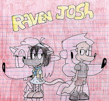 josh(Me) and raven