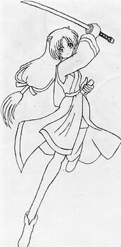 Mizuki, inuyasha's sis