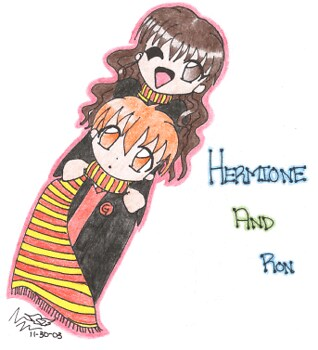 Hermione and Ron (Harry Potter)