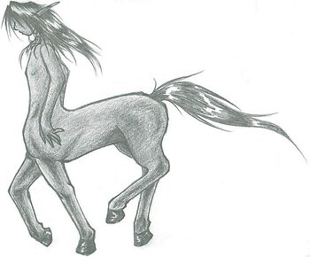 Dark-skinned Centaur