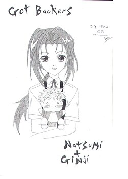 Getbackers! Natsumi & Ginji