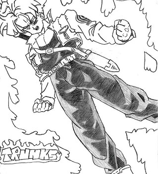 trunks is mad