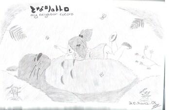 Mei & Totoro