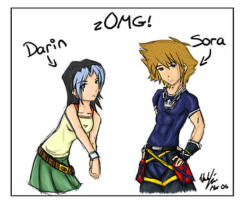 omg its Darin. ...and Sora.
