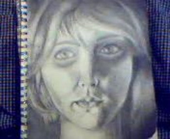 Graphite Self-Portrait