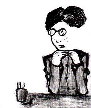 Tezuka in black and white
