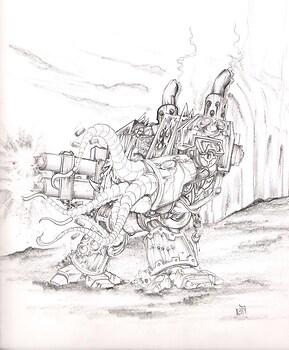 Nurgle Dreadnought
